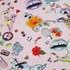 Markus Lupfer Women's Sticker Print Donna Sweatshirt - Pink: Image 4