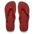 Havaianas Unisex Top Flip Flops - Red: Image 1