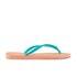 Havaianas Women's Slim Logo Flip Flops - Light Pink: Image 2