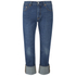 Levi's Women's 501 Cali Cool Mid Rise Tapered Jeans - Dark Indigo: Image 1