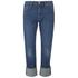 Levi's Women's 501 Cali Cool Mid Rise Tapered Jeans - Dark Indigo: Image 1