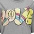 Love Moschino Women's Love T-Shirt Dress - Grey: Image 3