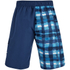 Zoggs Men's Water Check Stockton 21 Inch Swim Shorts Blue Check: Image 2