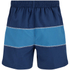 Zoggs Men's Water Check Woodgate 17 Inch Swim Shorts - Petrol Blue: Image 2