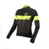 Nalini Pink Label Women's Nemi Long Sleeve Jersey - Black/Yellow: Image 1