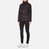 Barbour International Women's Quilted Jacket - Black: Image 4