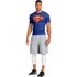 Under Armour Men's Transform Yourself Compression Top - Blue/Yellow/Red: Image 6