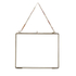 Nkuku Kiko Glass Frame -  Antique Brass - Landscape 8