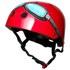 Kiddimoto Goggle Helmet - Red: Image 1
