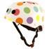 Kiddimoto Pastel Dotty Helmet: Image 1