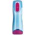 Contigo Swish Autoseal Drink Bottle (500ml) - Sky Blue/Magenta: Image 1
