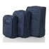 Redland '50FIVE Collection' 2 Wheel Trolley Suitcase Set - Navy - 75/65/55cm (3 Piece): Image 1