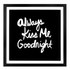 Parlane Kiss Me Wall Art - Black: Image 1
