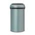 Brabantia 60 Litre Touch Bin - Metallic Mint: Image 1