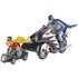Hot Wheels Elite DC Comics Batman 1966 Batcycle 1:12 Scale Figure Set: Image 3