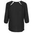 Vero Moda Women's Peak Cut Out Blouse - Black: Image 2