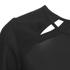 Vero Moda Women's Peak Cut Out Blouse - Black: Image 3