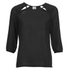 Vero Moda Women's Peak Cut Out Blouse - Black: Image 1