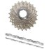 Shimano Ultegra CS-6700 Bicycle Chain and Cassette - 10 Speed Grey 11-23T: Image 1