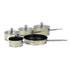 Morphy Richards 46412 5 Piece Pan Set - Cream: Image 1