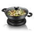 Elgento E14018 Electric Wok - Black - 30cm: Image 1