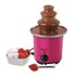 Elgento E26005 Mini Chocolate Fountain - Pink: Image 1