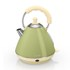 Swan SK261030GN Pyramid Kettle - Green - 2L: Image 1