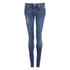 ONLY Women's Mercury Low Rise Skinny Jeans - Medium Blue Denim: Image 1