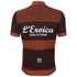 Santini L'Eroica Gaiole 2015 Event Series Polyester Print Short Sleeve Jersey - Dark Red: Image 4