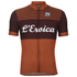 Santini L'Eroica Gaiole 2015 Event Series Polyester Print Short Sleeve Jersey - Dark Red: Image 1