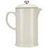 Le Creuset Stoneware Cafetiere Coffee Press - Almond: Image 5
