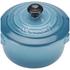 Le Creuset Stoneware Petite Casserole Dish - Teal: Image 3