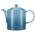 Le Creuset Stoneware Grand Teapot, 1.3L - Teal: Image 1