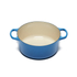Le Creuset Signature Cast Iron Round Casserole Dish - 24cm - Marseille Blue: Image 2