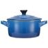 Le Creuset Stoneware Petite Casserole Dish - Marseille Blue: Image 4