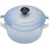 Le Creuset Stoneware Petite Casserole Dish - Coastal Blue: Image 3