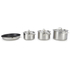 Le Creuset 3-Ply Stainless Steel Non-Stick 4 Piece Cookware Set: Image 4