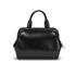 Lulu Guinness Women's Paula Mid Polished Calf Leather Tote Bag - Black: Image 7