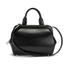 Lulu Guinness Women's Paula Mid Polished Calf Leather Tote Bag - Black: Image 1