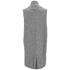 VILA Women's Liana Long Waistcoat - Light Grey: Image 2