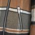 VILA Women's Vintour Asymmetric Checked Coat - Sandshell: Image 4