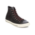 Converse Men's Chuck Taylor All Star Suede/Leather Hi-Top Trainers - Black/Papaya/Turtle: Image 4