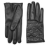 REDValentino Women's Stud Leather Gloves - Black: Image 1
