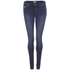 Superdry Women's Super Skinny Jeans - Mid Blue Worn: Image 1