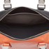 Paul Smith Accessories Women's Leather Bowler Bag - Orange/Black: Image 4