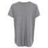 Helmut Lang Women's Deep V Neck T-Shirt - Heather Grey: Image 2