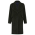 French Connection Women's Tyler Wool Wrap-Over Coat - Turtle: Image 1