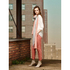 BOSS Orange Women's Sochini-D Trousers - Medium Pink: Image 7
