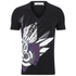 Versace Collection Men's V Neck Print T-Shirt - Black: Image 1