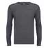 Merrell Geom Long Sleeve T-Shirt - Granite Heather/Black: Image 1